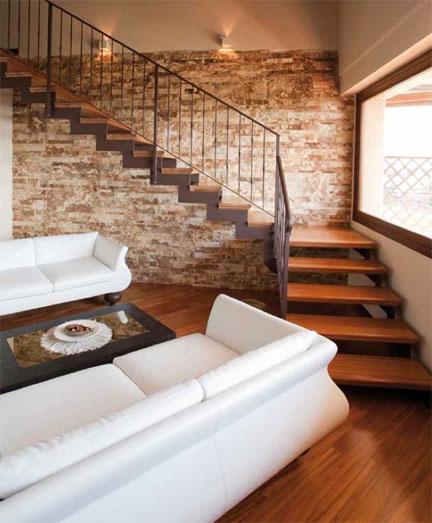 Scale in legno a modica - Rivestimenti legno interni ...