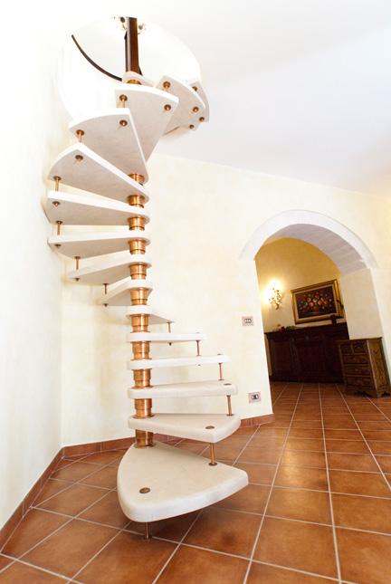 Scale a chiocciola modica ragusa sicilia for Schemi di scala a chiocciola